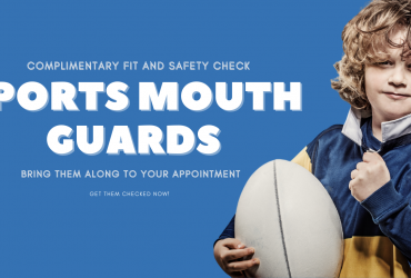 Mouthguards for sport – Protect your child's teeth.